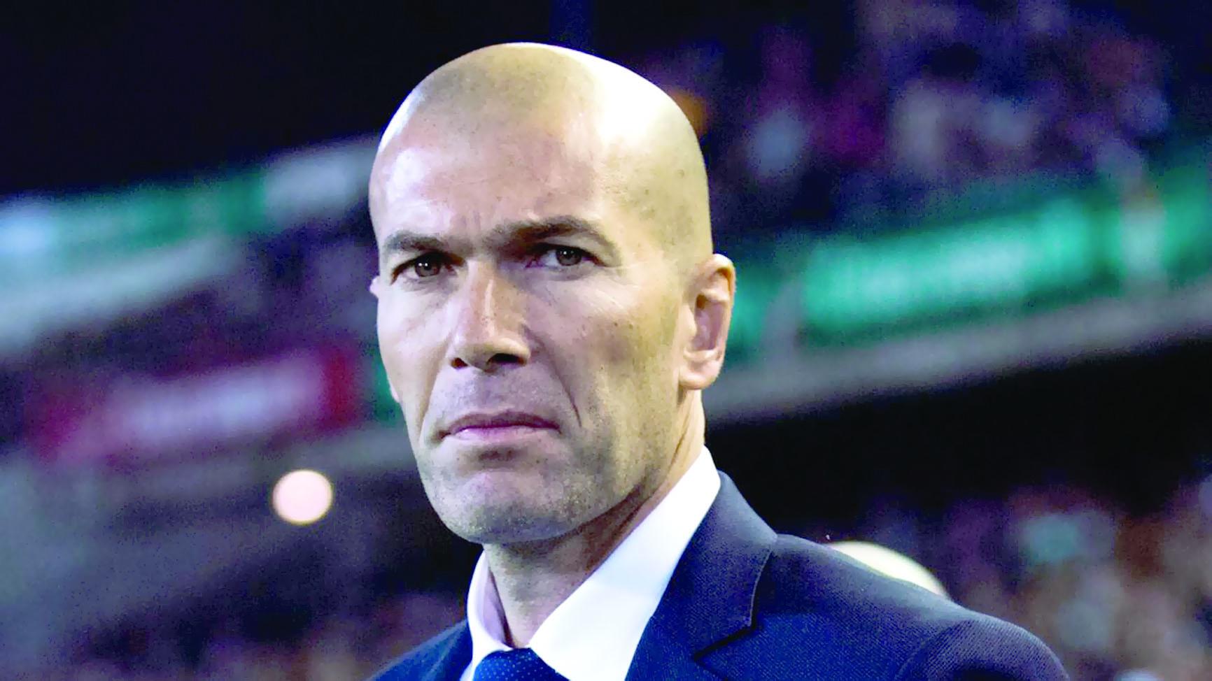 زيدان يدافع عن نيمار ولا يكترث بنتيجة برشلونة ضد أتلتيكو