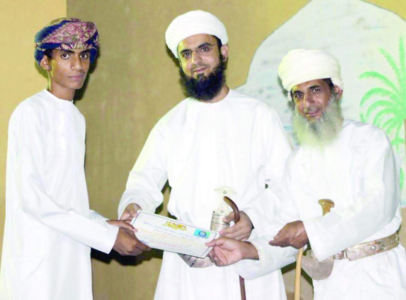 اختتام مسابقة القرآن الكريم لفريق الشبيبة بسمائل