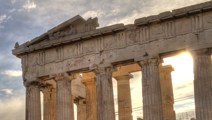 Fun Fact: Ancient Greek art and architecture
