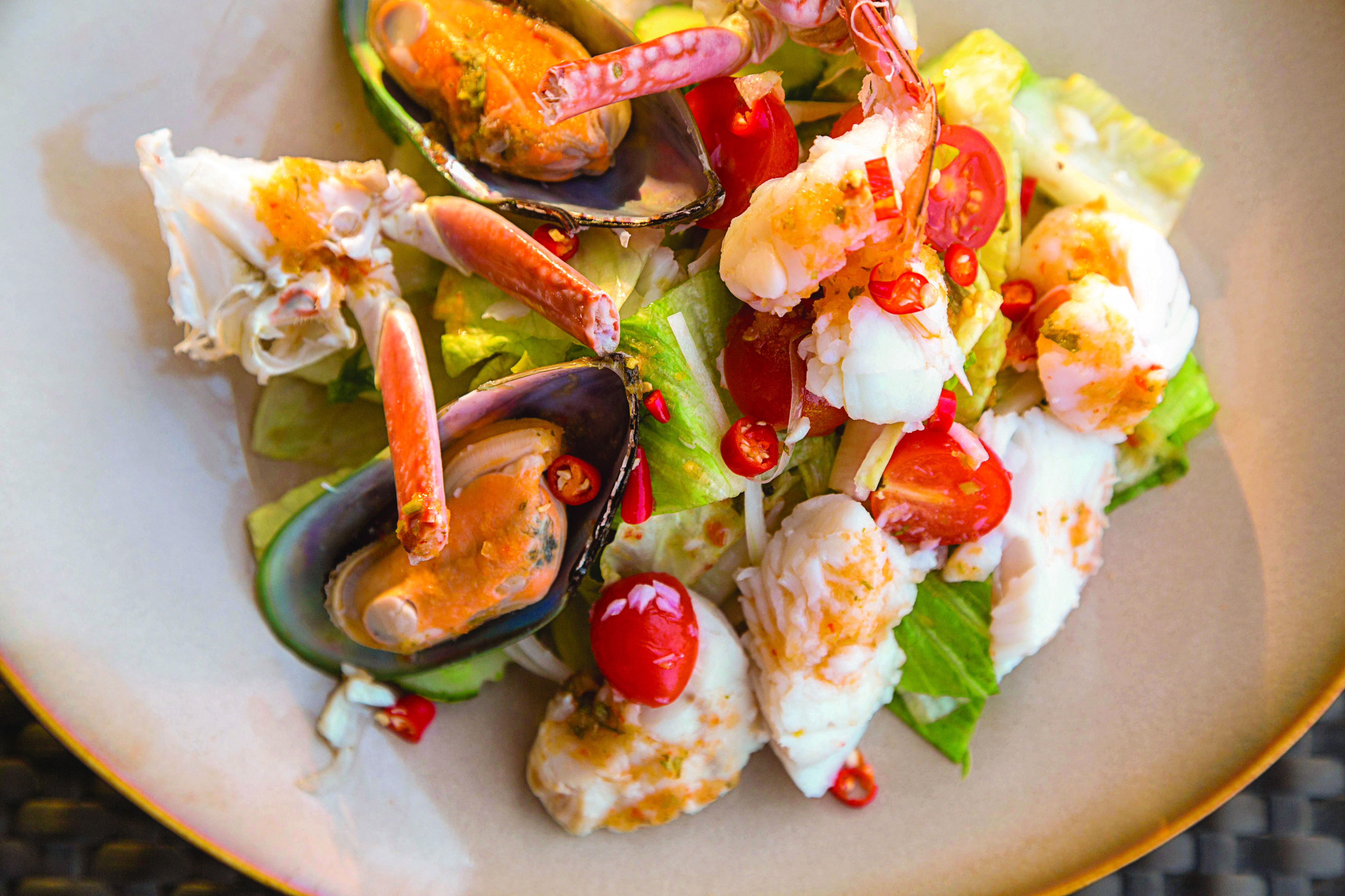 Quick and Easy Thai Seafood Salad Recipe