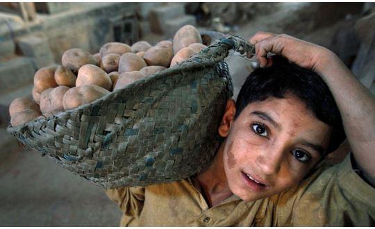 عدد الاطفال العاملين في العالم يصل الى 168 مليون طفل