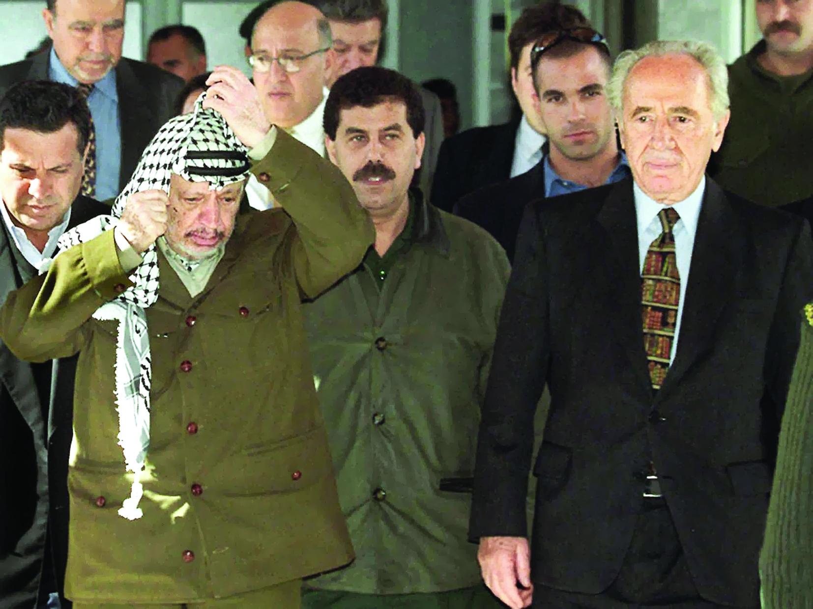 «بيريز» بين نوبل السلام ومجزرة قانا