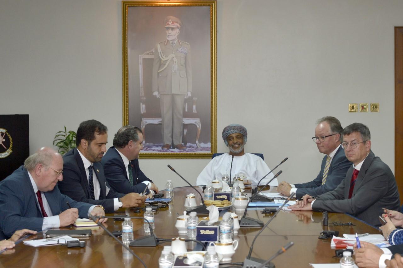 الأمين العام بوزارة الدفاع يستقبل وفدا برلمانيا من حلف (الناتو)