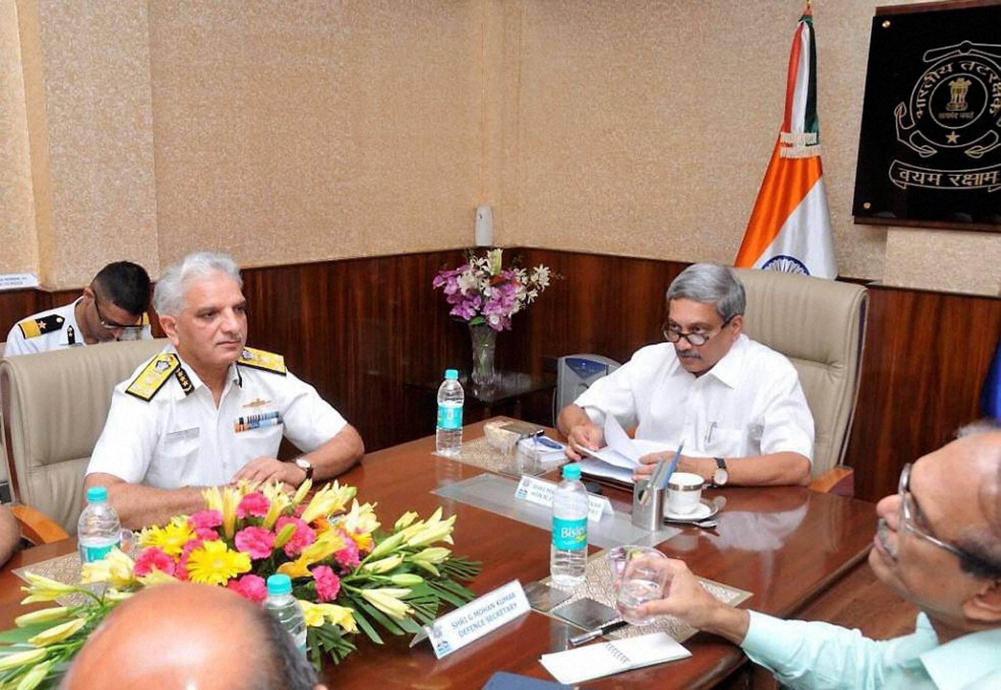 Coast Guard should bolster security to thwart infiltration: Parrikar