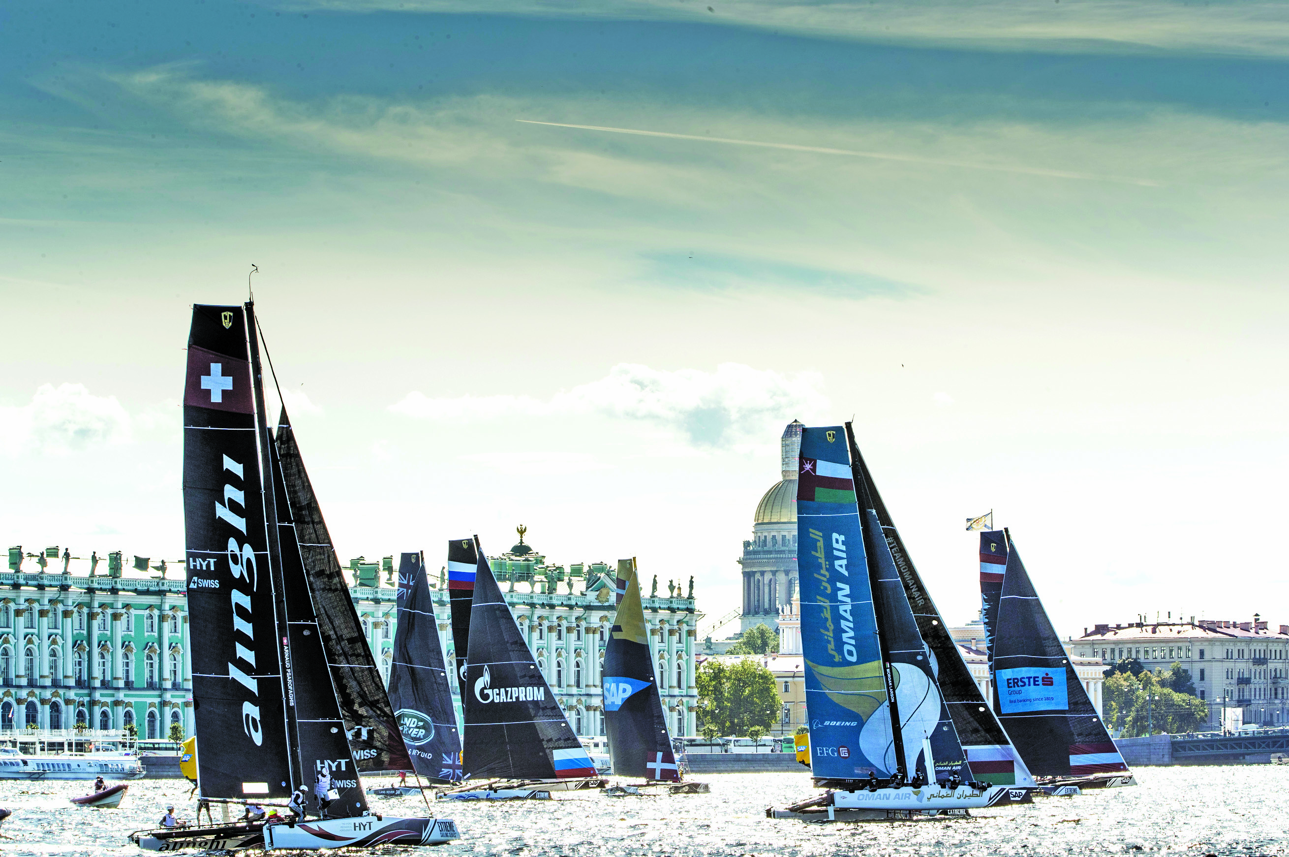 Oman Sail: Oman Air well placed at Extreme Sailing Series Act 5 in St Petersburg