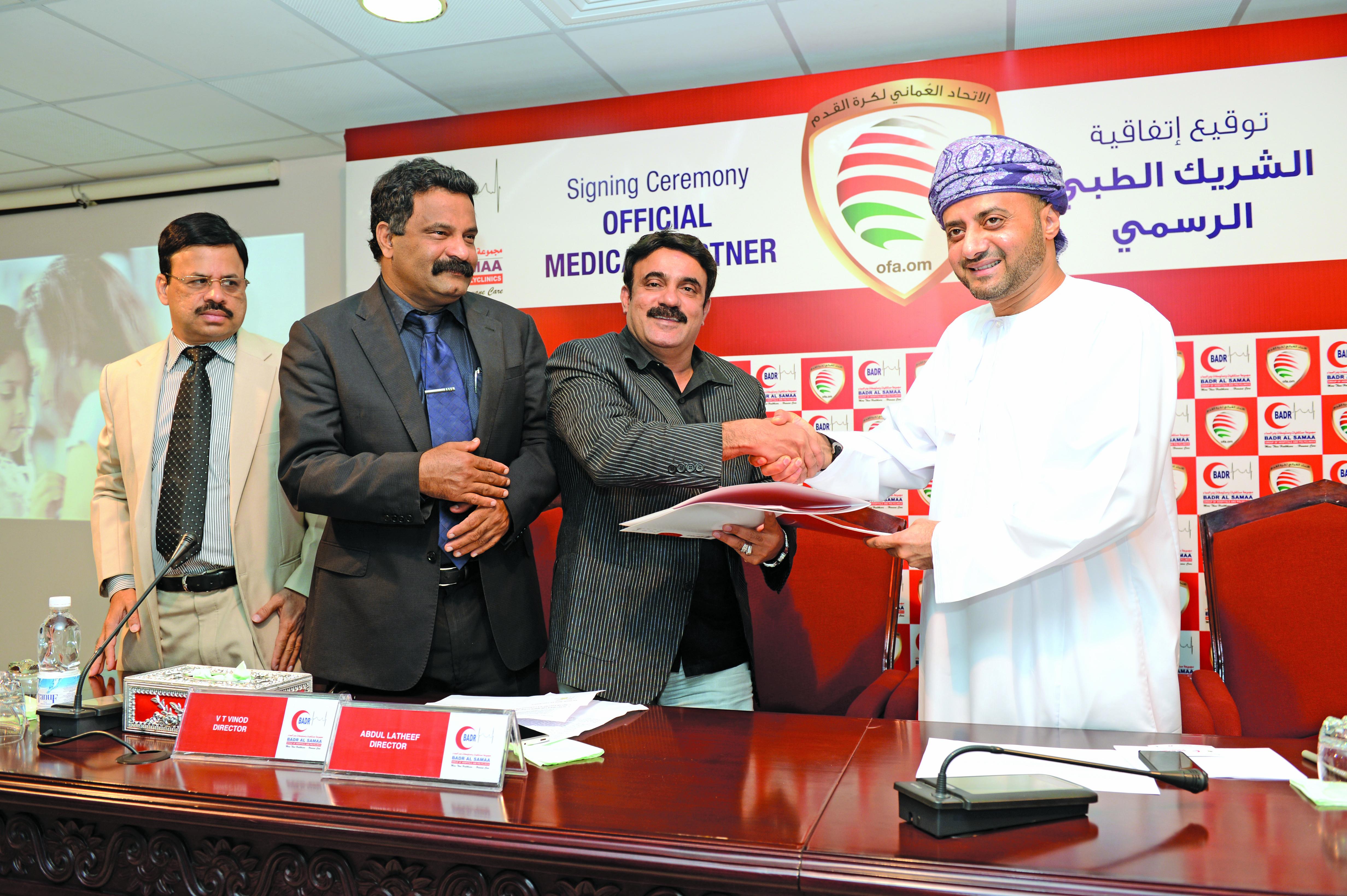 Oman FA, Badr Al Samaa renew partnership