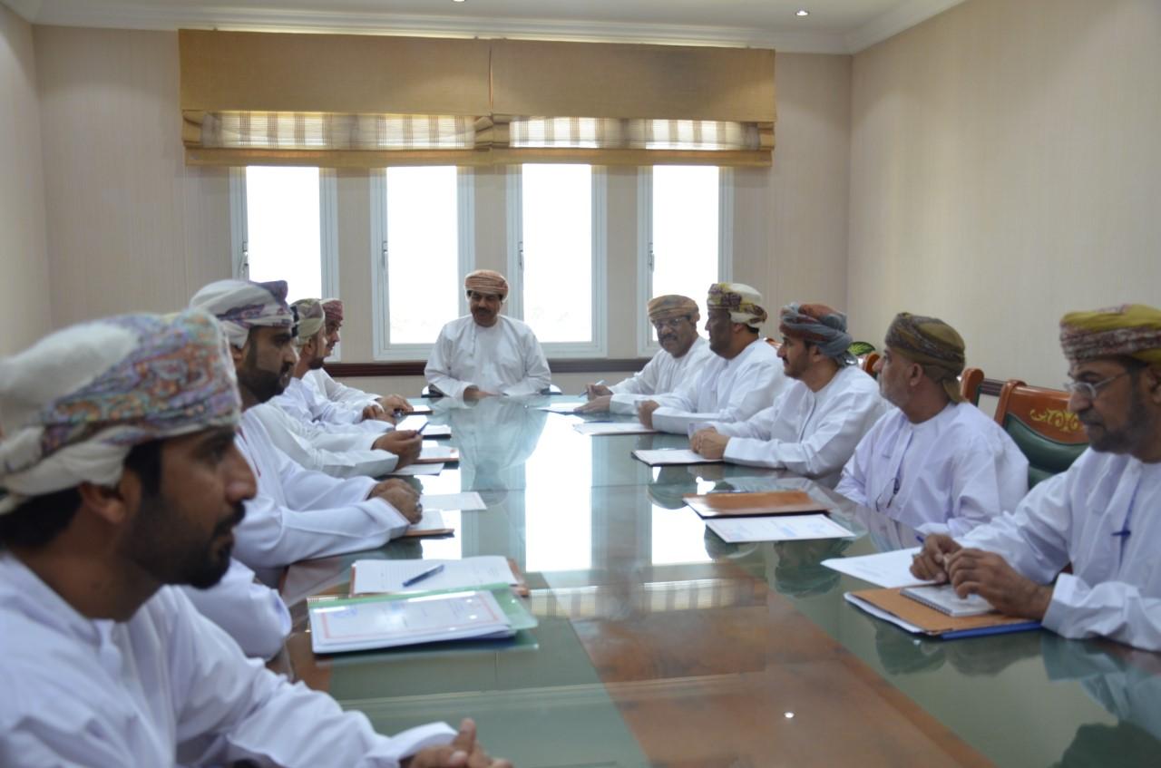 لجنة حصر وتثمين الممتلكات / اجتماع