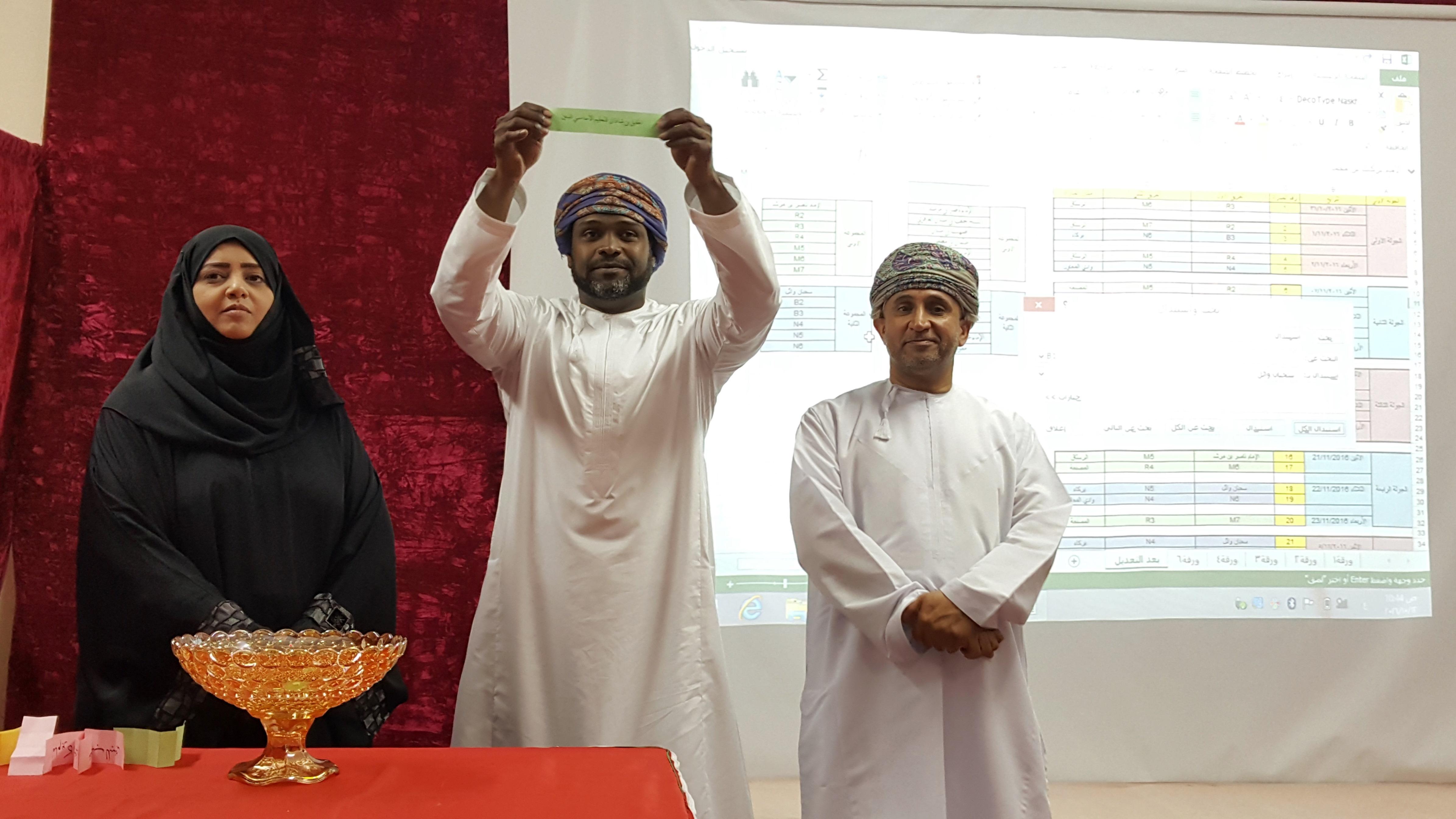 سحب قرعة دوري عمان للمدارس لكرة القدم بتعليمية جنوب الباطنة