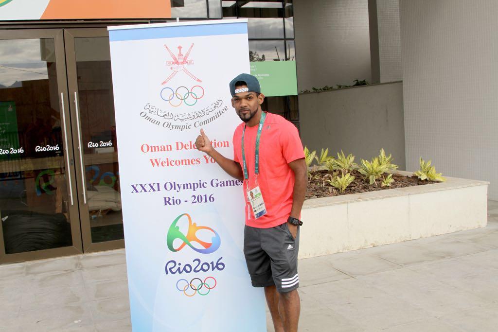 Barakat Al Harthy: An Omani competing at the 2016 Rio Olympics