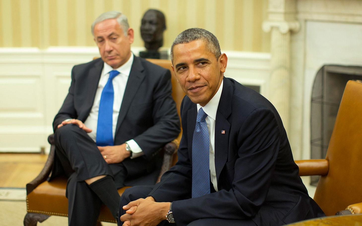 نتنياهو في لقاء مع مستوطني عموناه وعوفرة: اوباما يشكل خطرا على الاستيطان