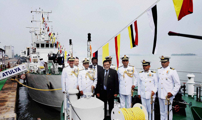 Coast Guard ships Aryaman and Atulya commissioned
