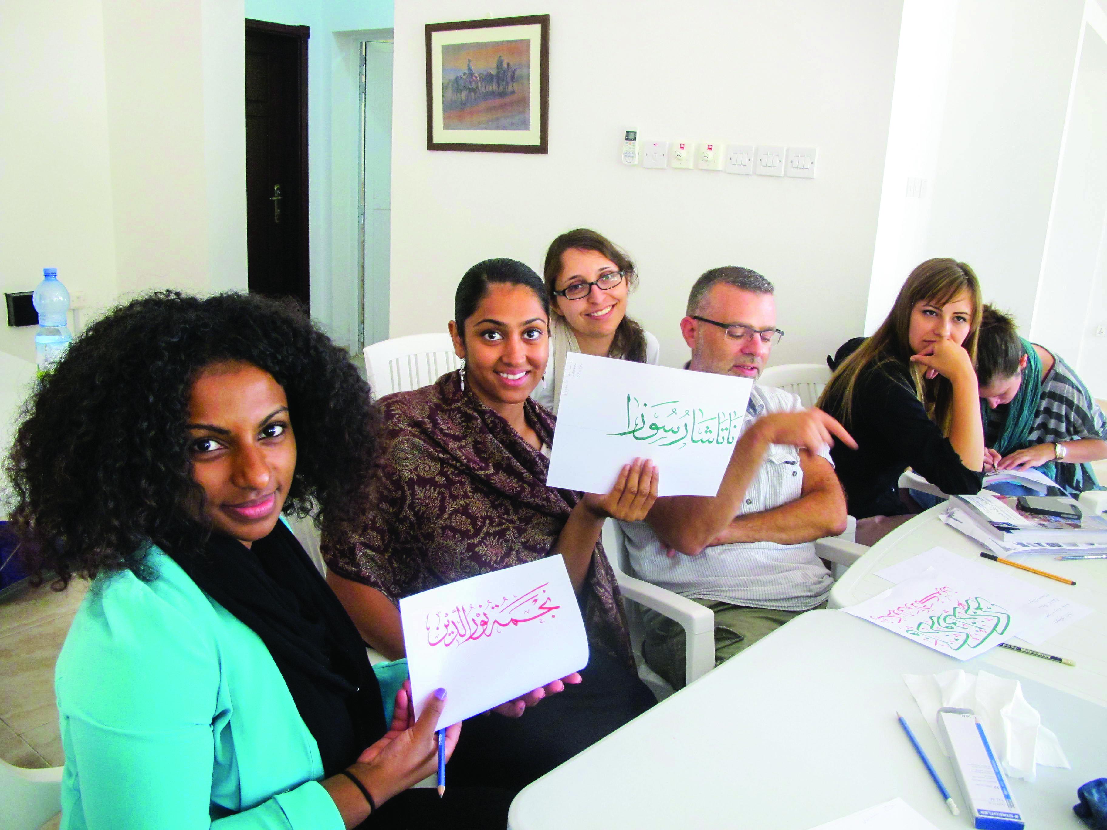 Oman Culture: Learn Arabic in six weeks