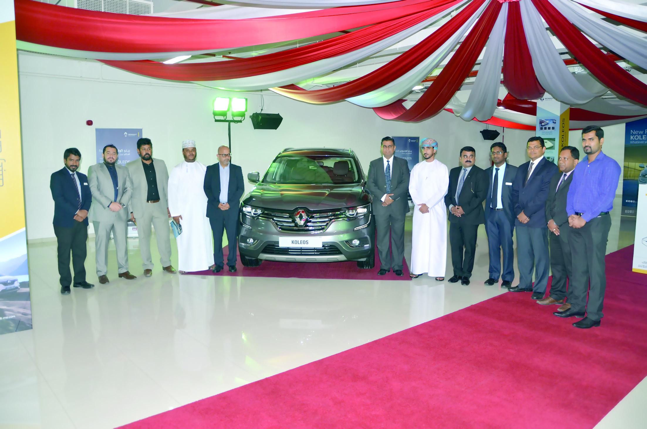 رينو عمان تدشن سيارة كوليوس الجديدة كليا  و المتميزة