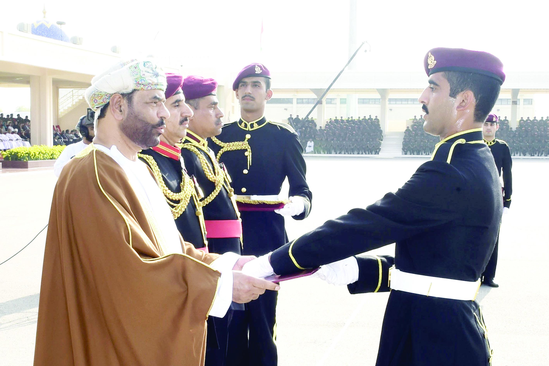 الحرس السلطاني العماني يحتفل بيومه السنوي