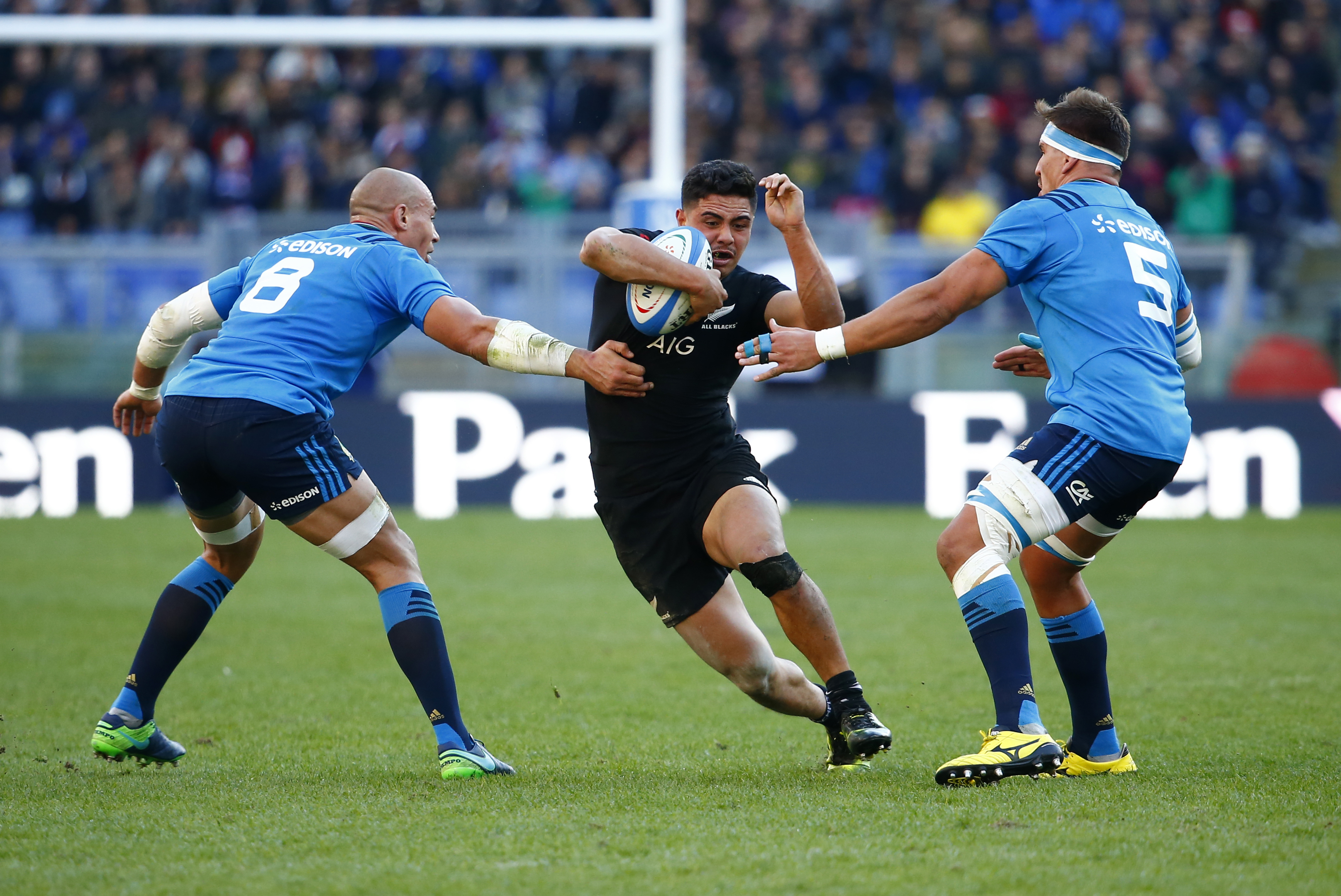 Rugby: New Zealand run riot against Italy after Irish shock