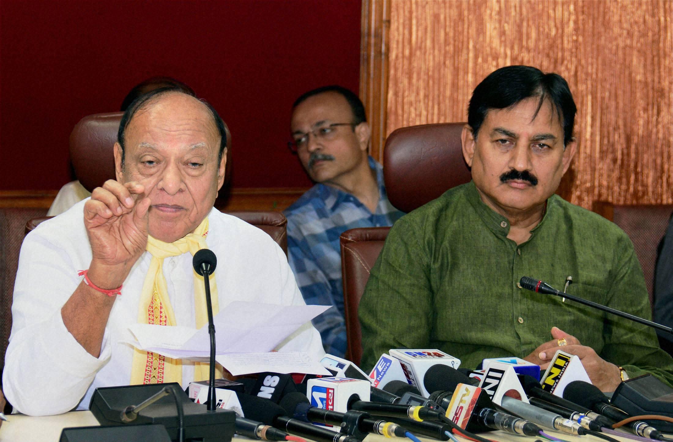 Demonetisation is BJP's face saving exercise, alleges Vaghela