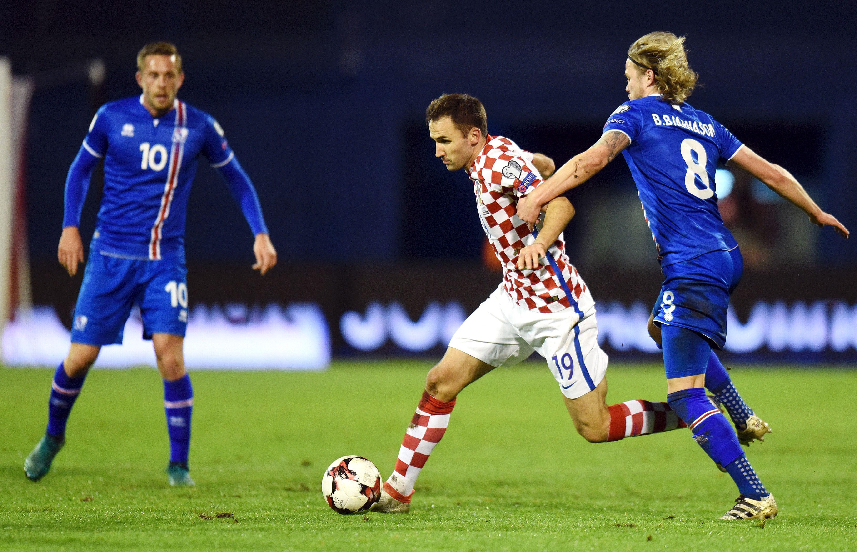 تصفيات المونديال: كرواتيا تطيح بايسلندا وتفض معها شراكة الصدارة وفوز أول لتركيا