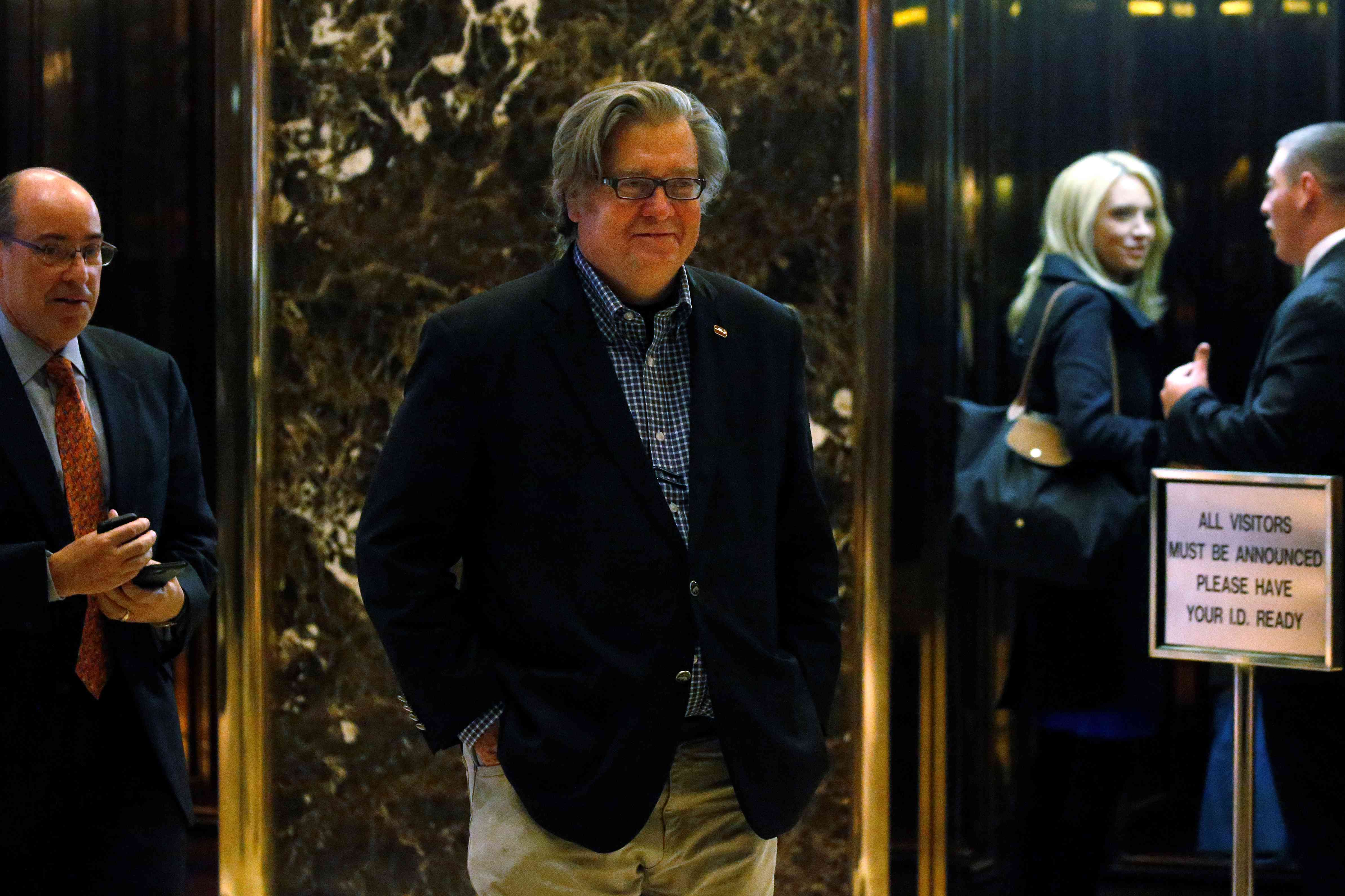 Trump's pick of right-wing firebrand Bannon for White House job sparks outrage