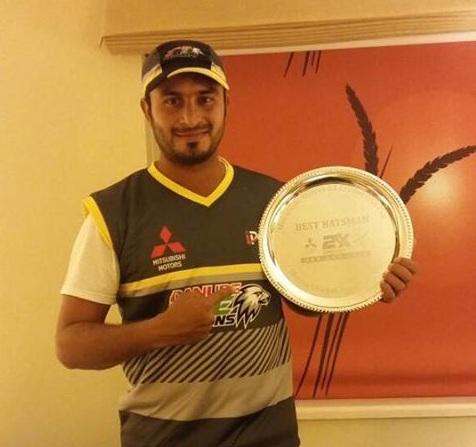 Oman Cricket: Zeeshan Maqsood wins best batsman award at 2xCricket USA Cup