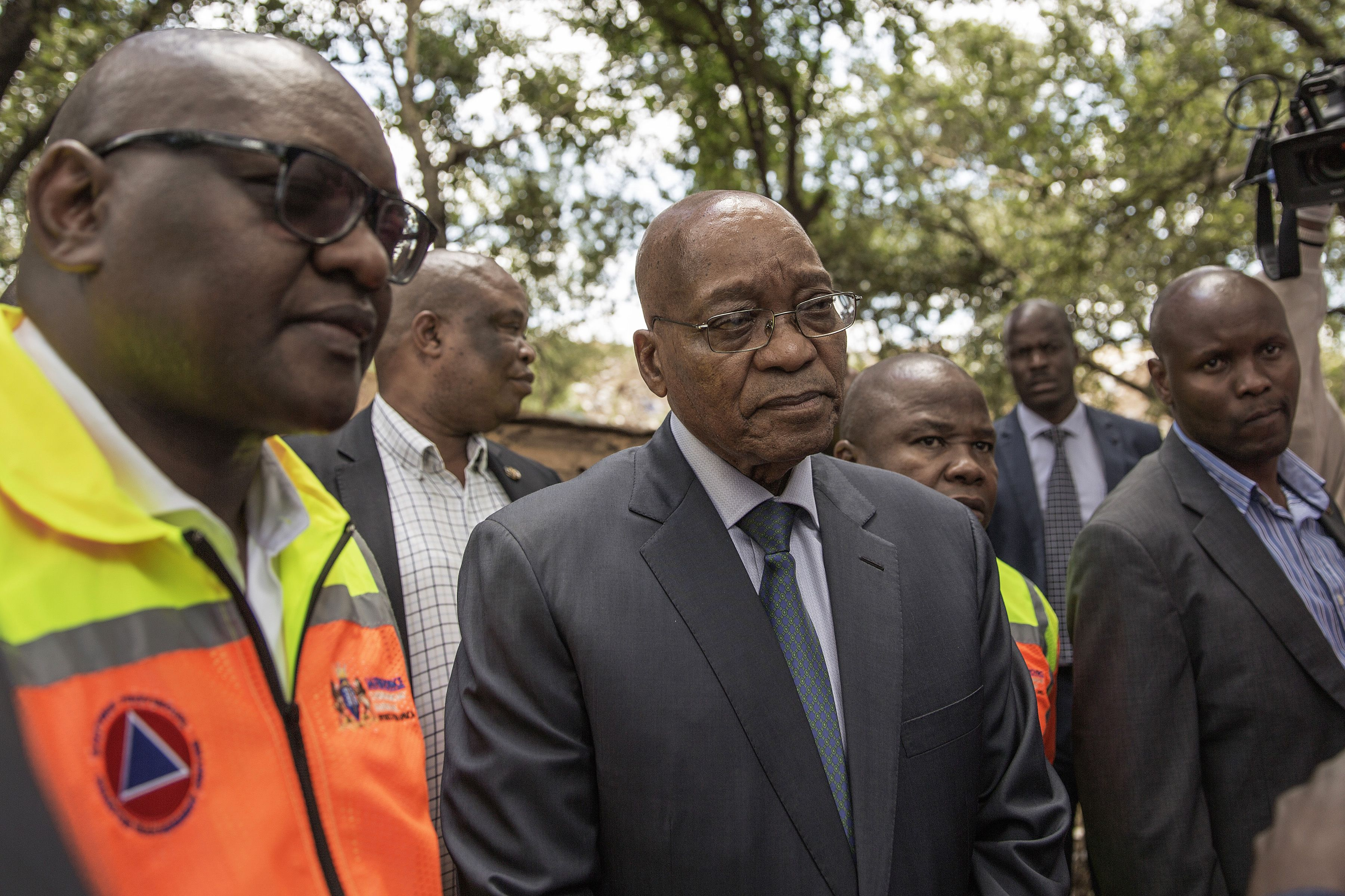 South Africa's opposition files complaint against Zuma over corruption