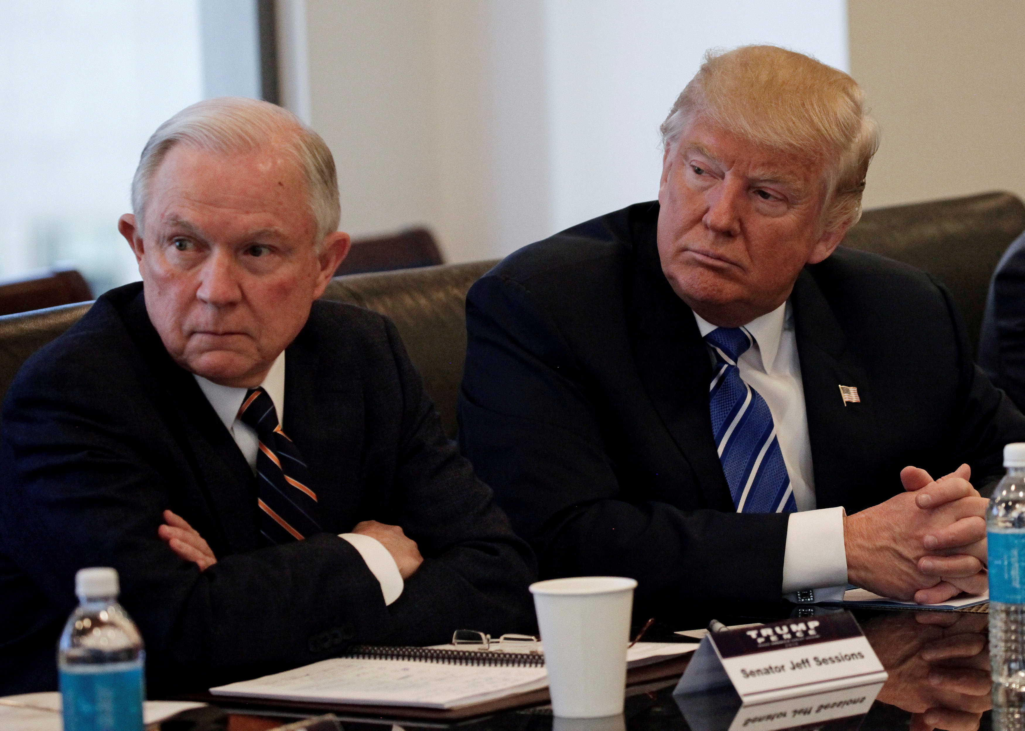 Judge Jeff Sessions by what he does next