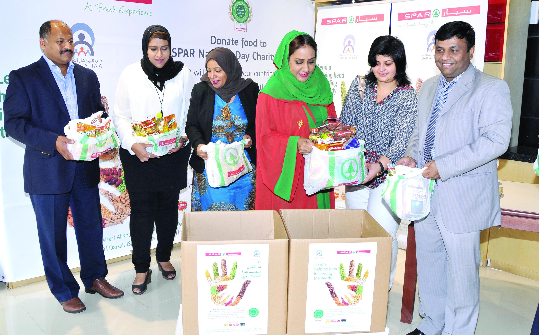 «سبار عُمان» يطلق حملة التبرعبالمواد الغذائية بمناسبة العيد الوطني