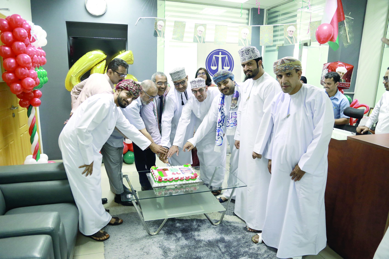 خالد للمحاماة والاستشارات القانونية يحتفل بالعيد الوطني