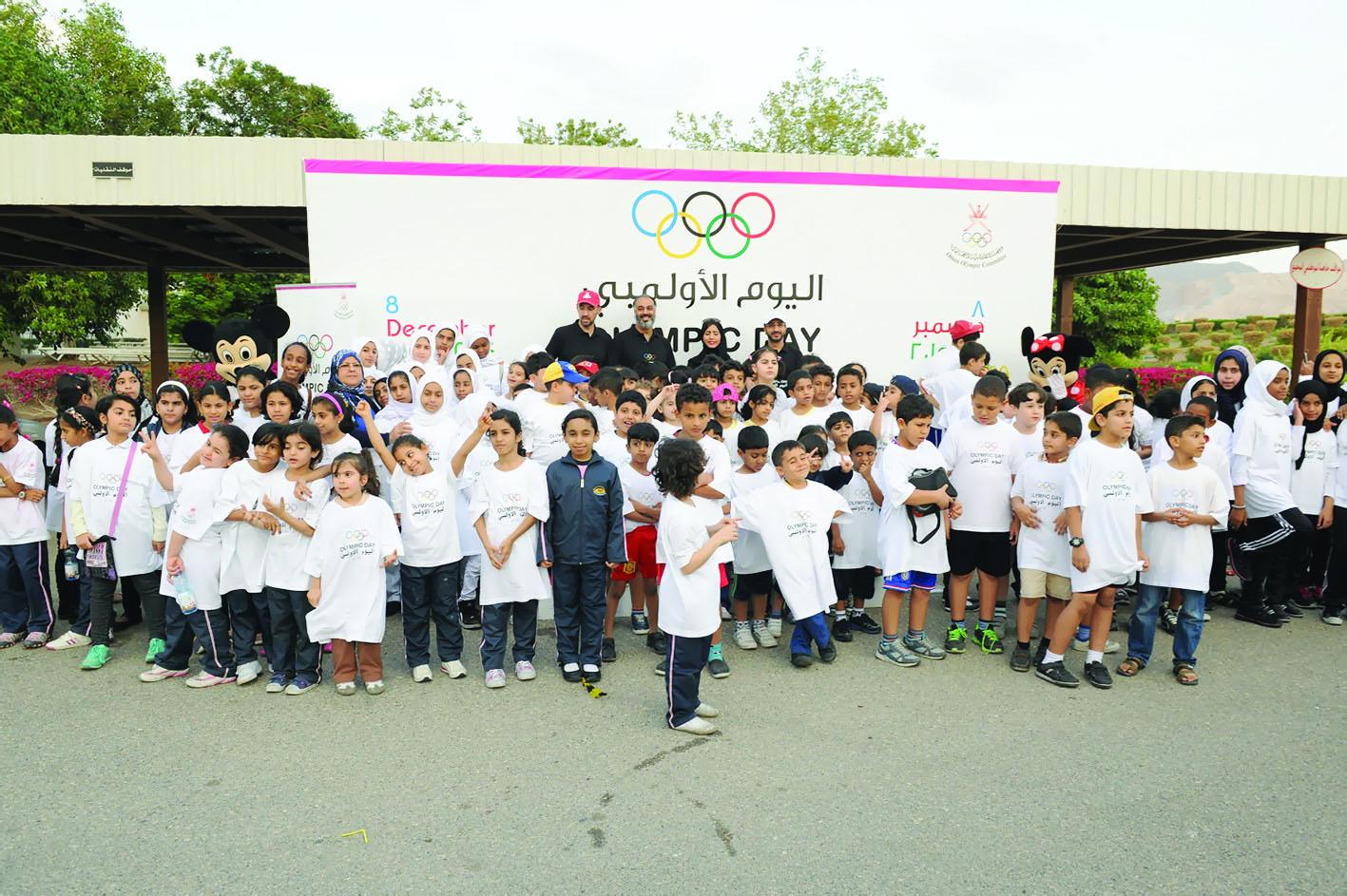 اللجنة الأولمبية العمانية تحتفل اليوم بإقامة فعاليات اليوم الأولمبي 2016
