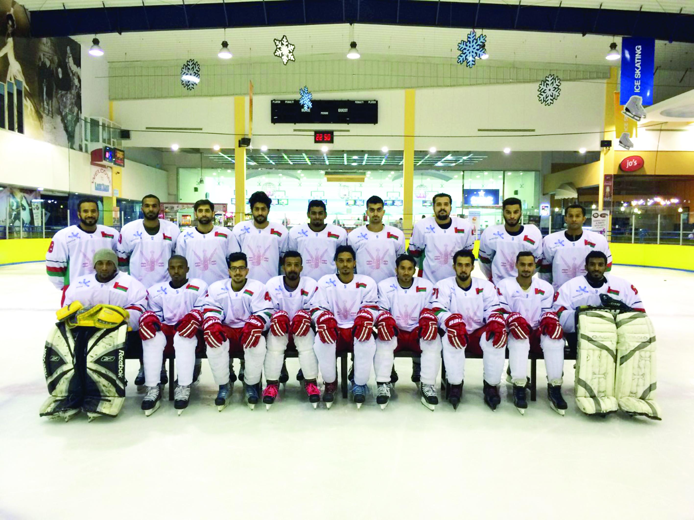 المنتخب الوطني لهوكي الجليد يكمل جاهزيته للبطولة الدولية بدولة الإمارات