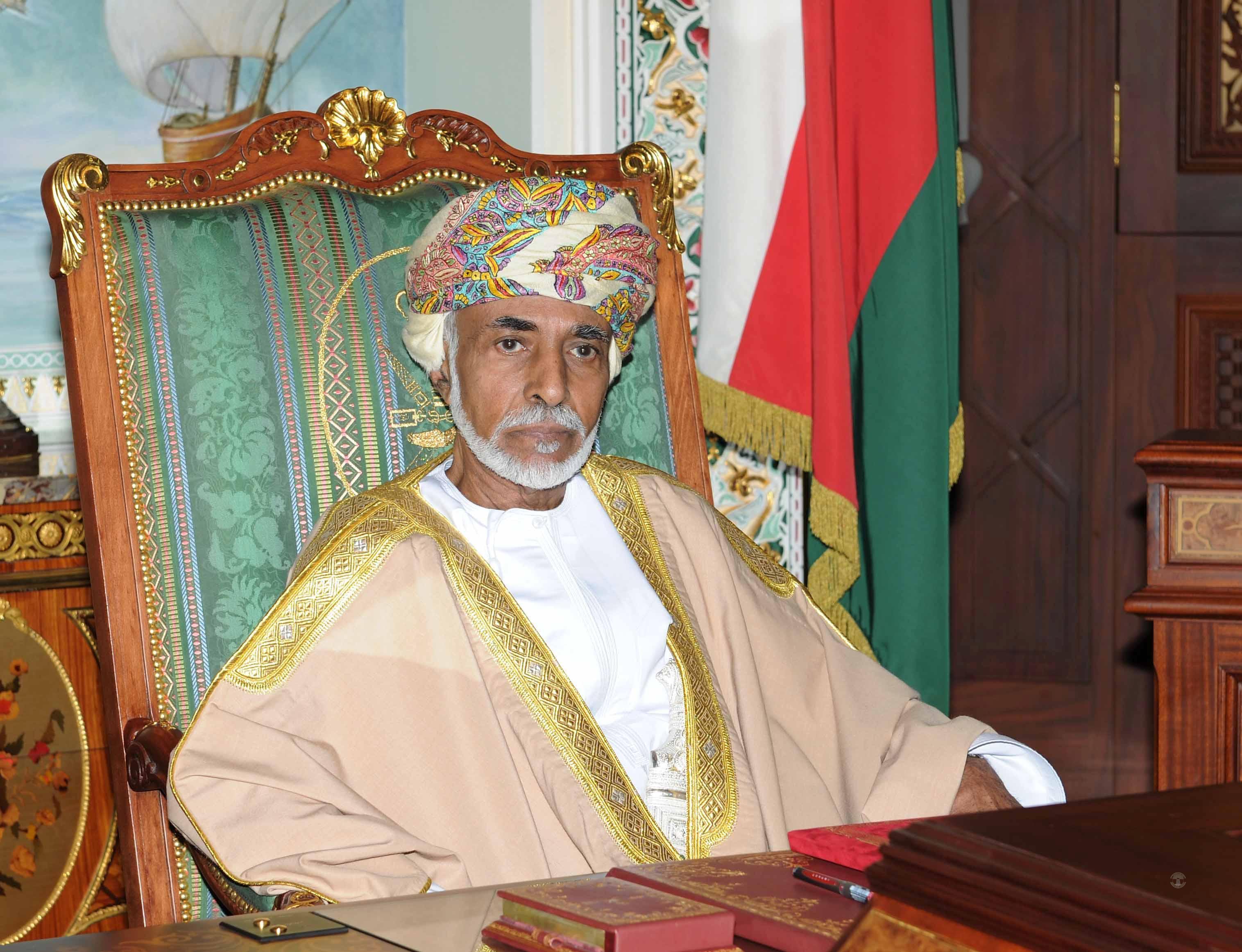 His Majesty Sultan Qaboos sends condolences to India, Greece