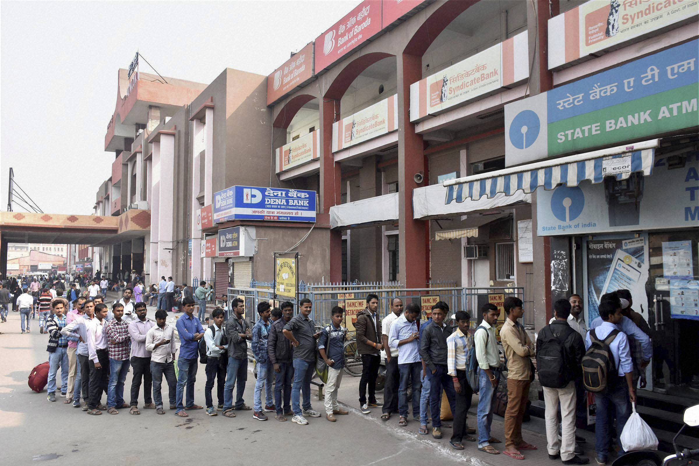 Demonetisation: 82,500 ATMs recalibrated to dispense new notes