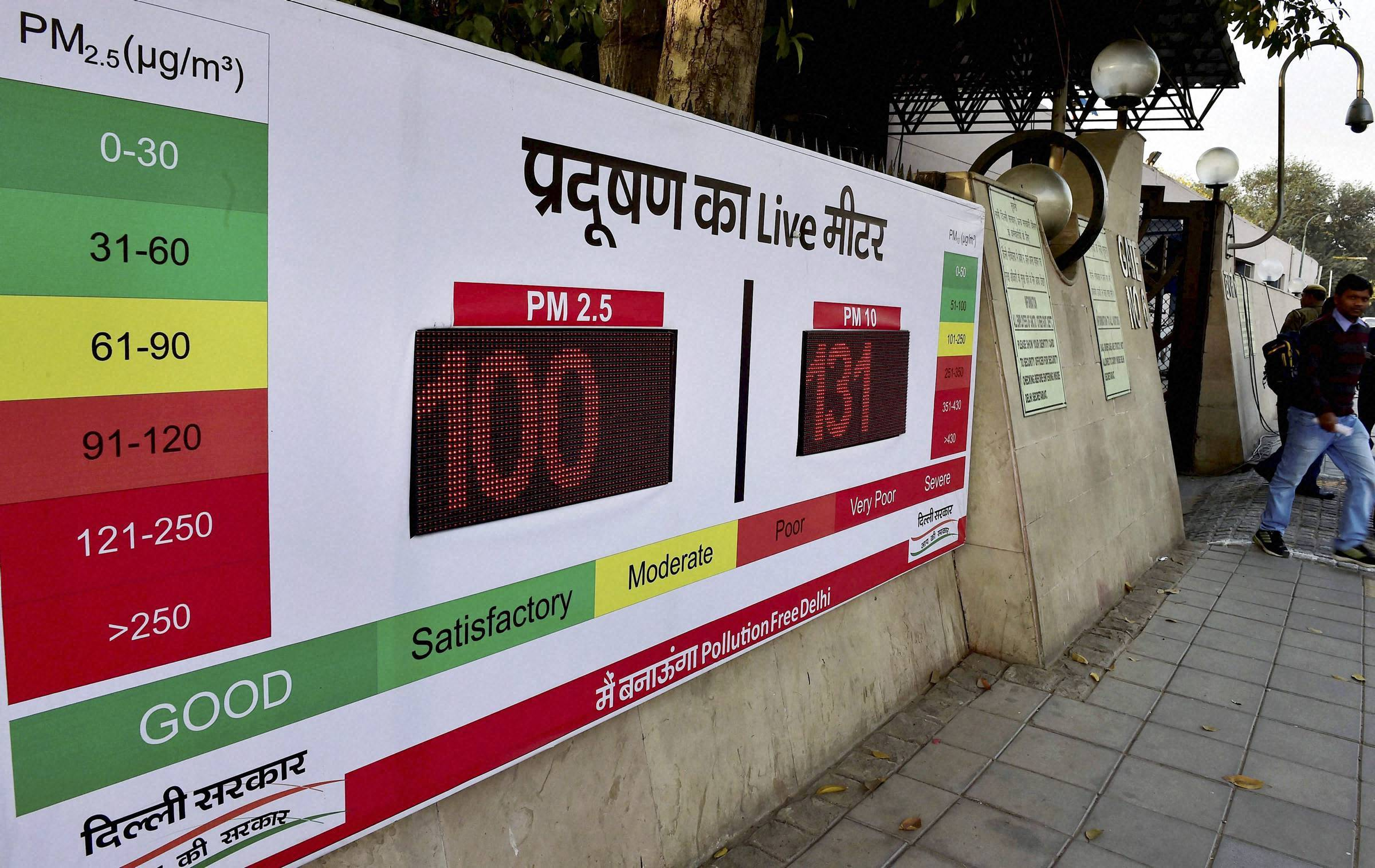 Delhi government plans 20 centres to monitor PM 2.5 and PM 10