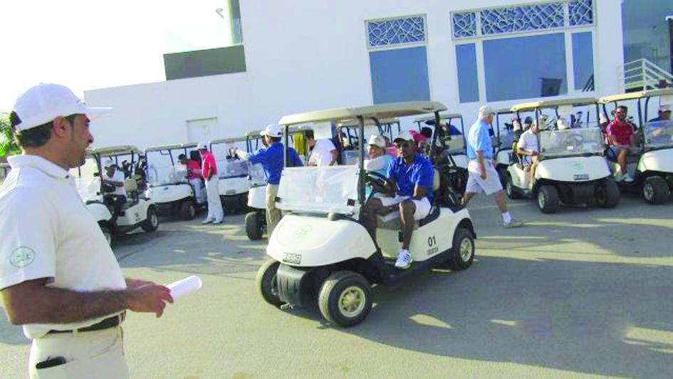 بالصور بطولة للجولف.. لصالح «جمعية دار العطاء»