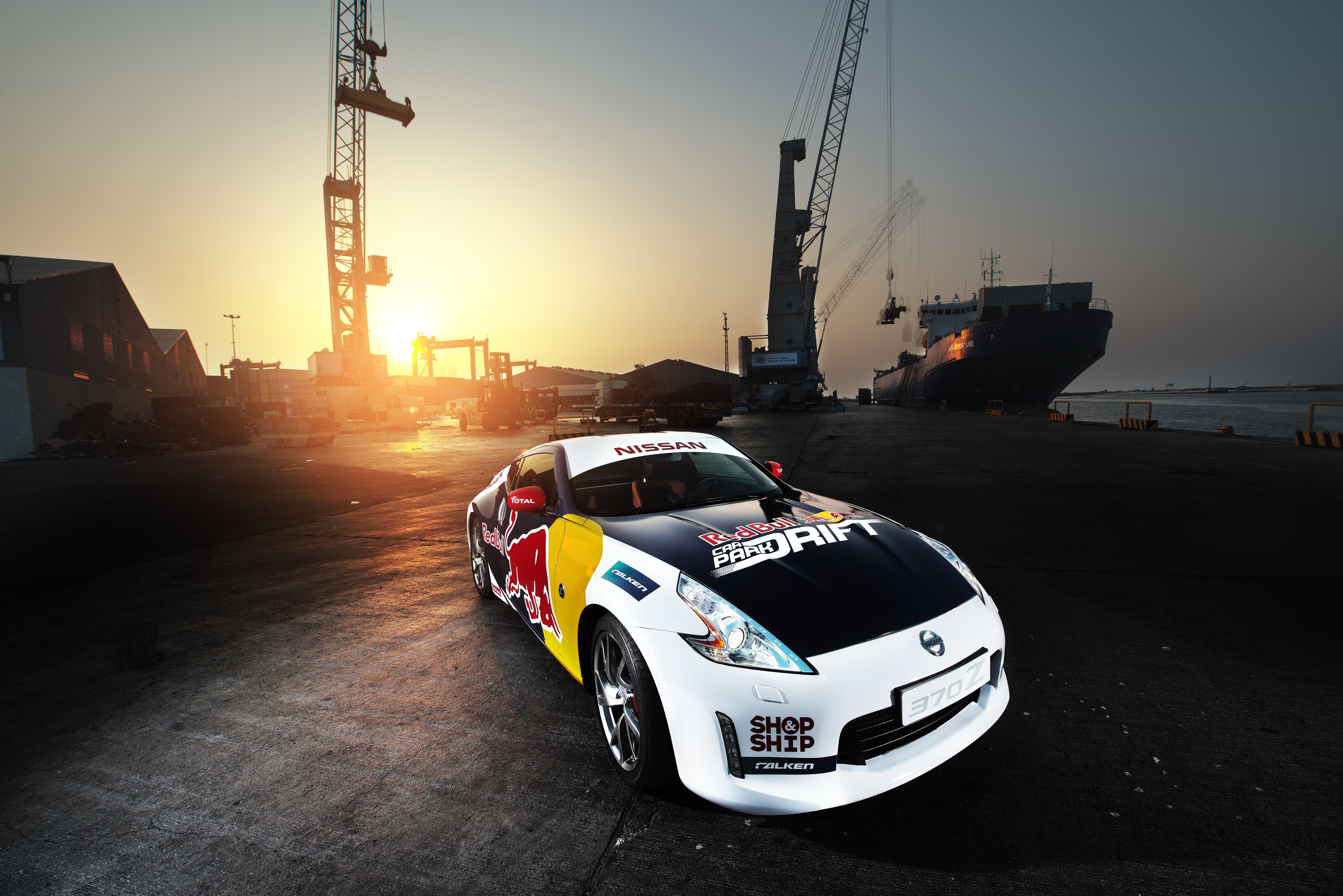 Drifters unveiled for Red Bull Car Park Drift Final 2016 in Oman