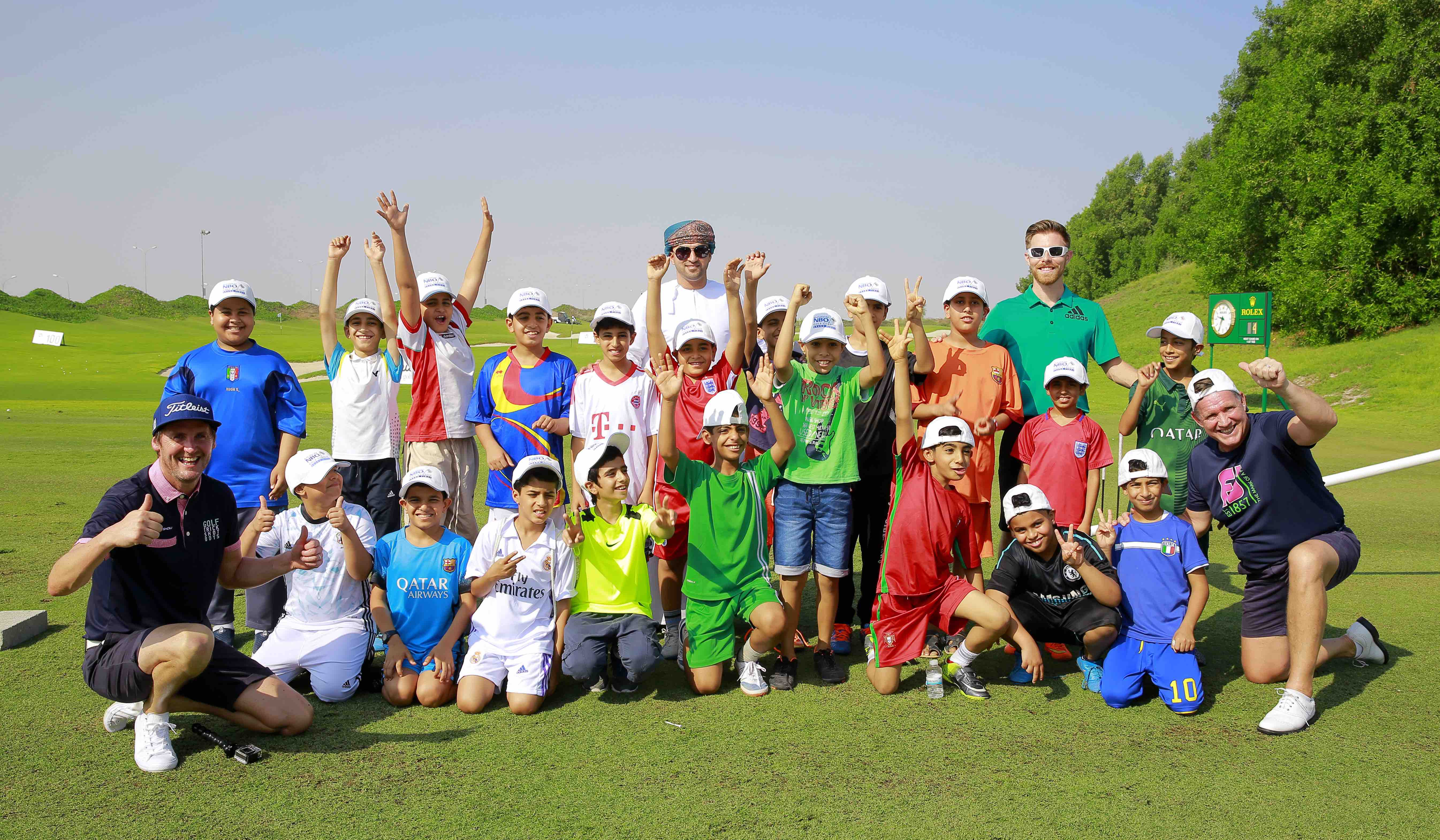 NBO Golf Classic: Local school kids join the fun