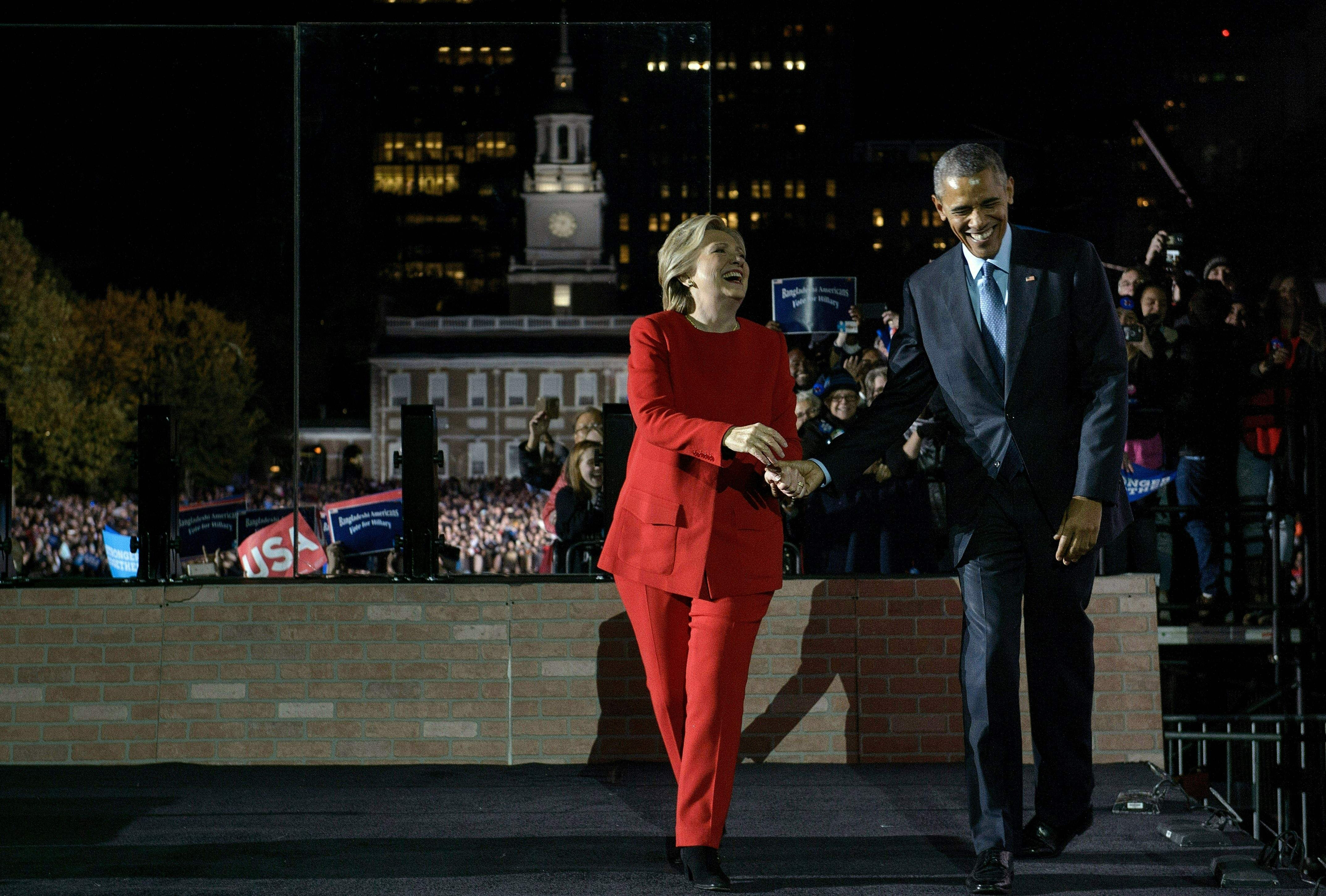 Hillary more qualified to become president than Bill, says Obama