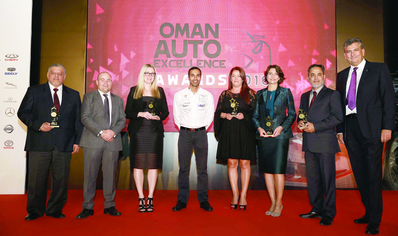 «مرسيدس-بنز» تتألق خلال حفل جوائز التميّز للسيارات