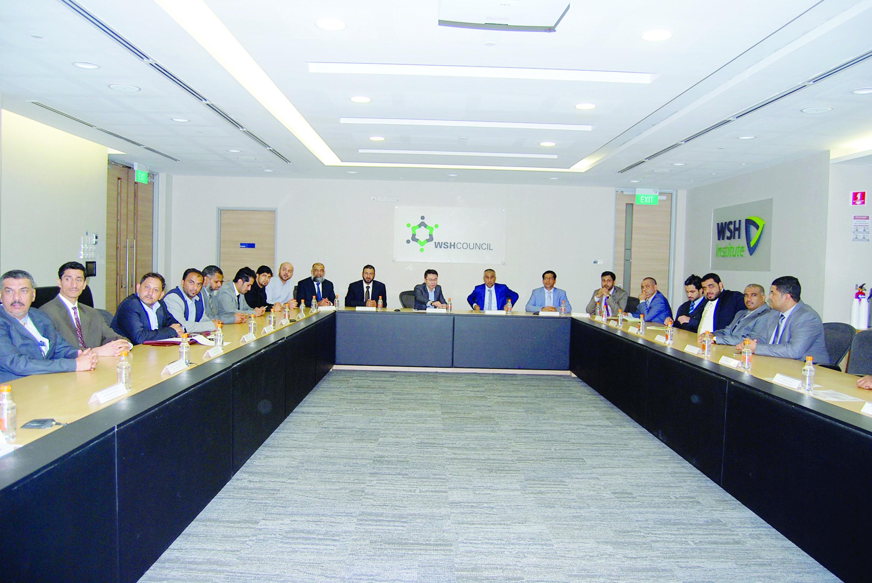 وفد أطراف الإنتاج الثلاثة يلتقي بالمسؤولين في وزارة القوى العاملة بسنغافورة