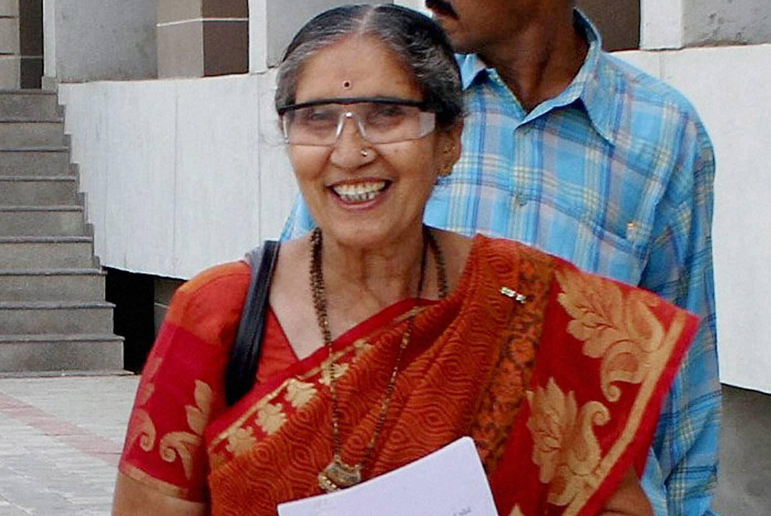Prime Minister Narendra Modi's wife Jashodaben happy with demonetisation