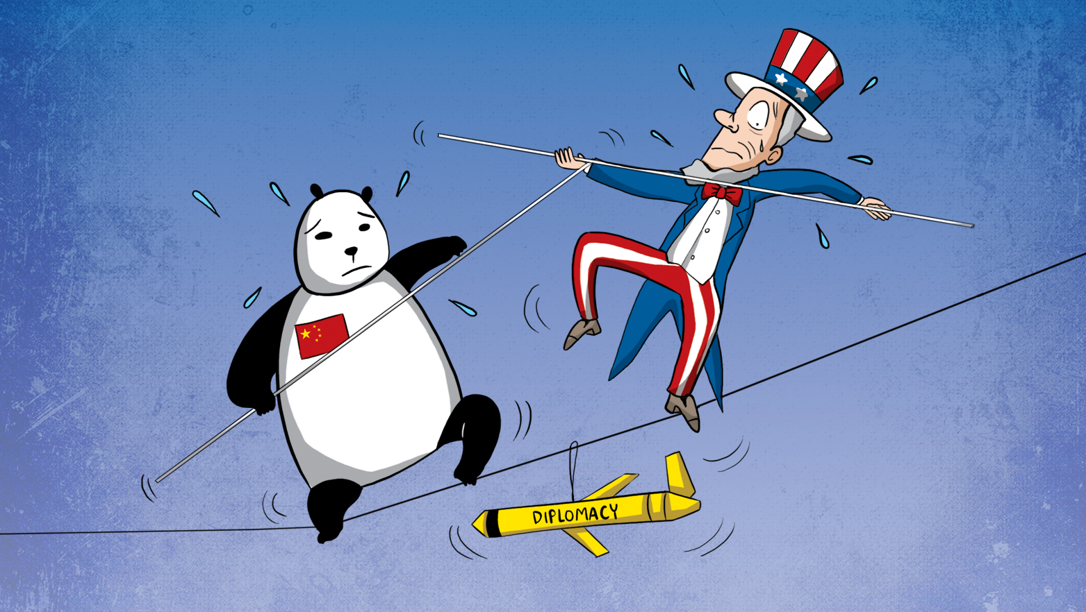 US, China diplomacy after naval drone