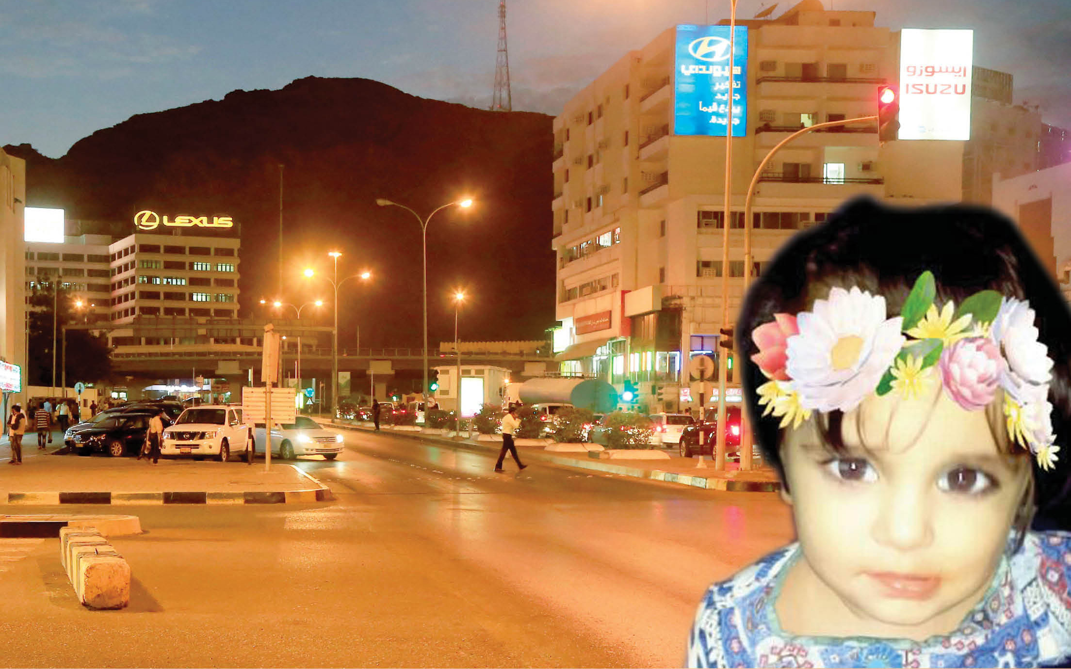 Oman accident: Truck ploughs into pregnant mum, daughter