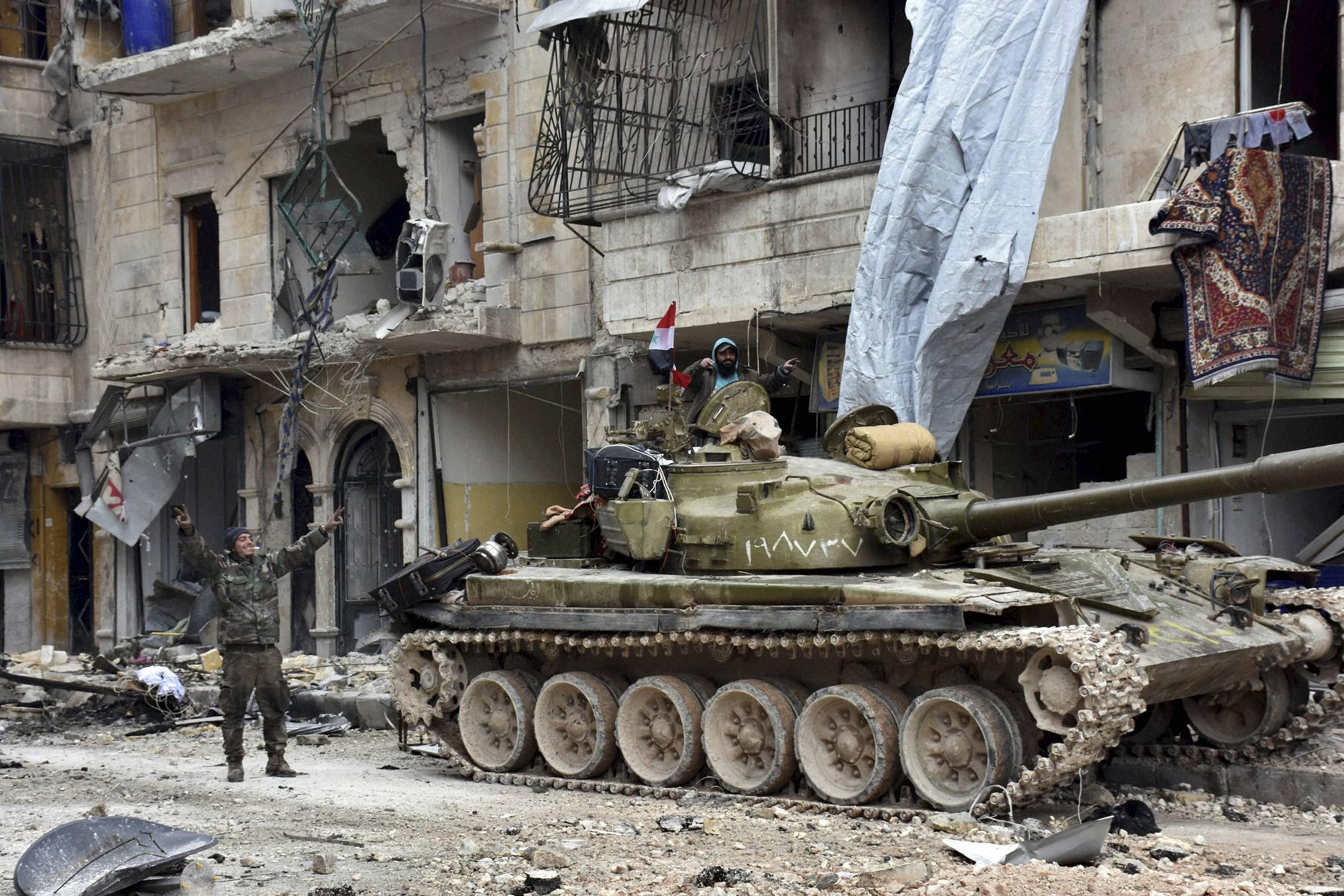 Aleppo sees shelling, air strikes again as Assad urges peace talks
