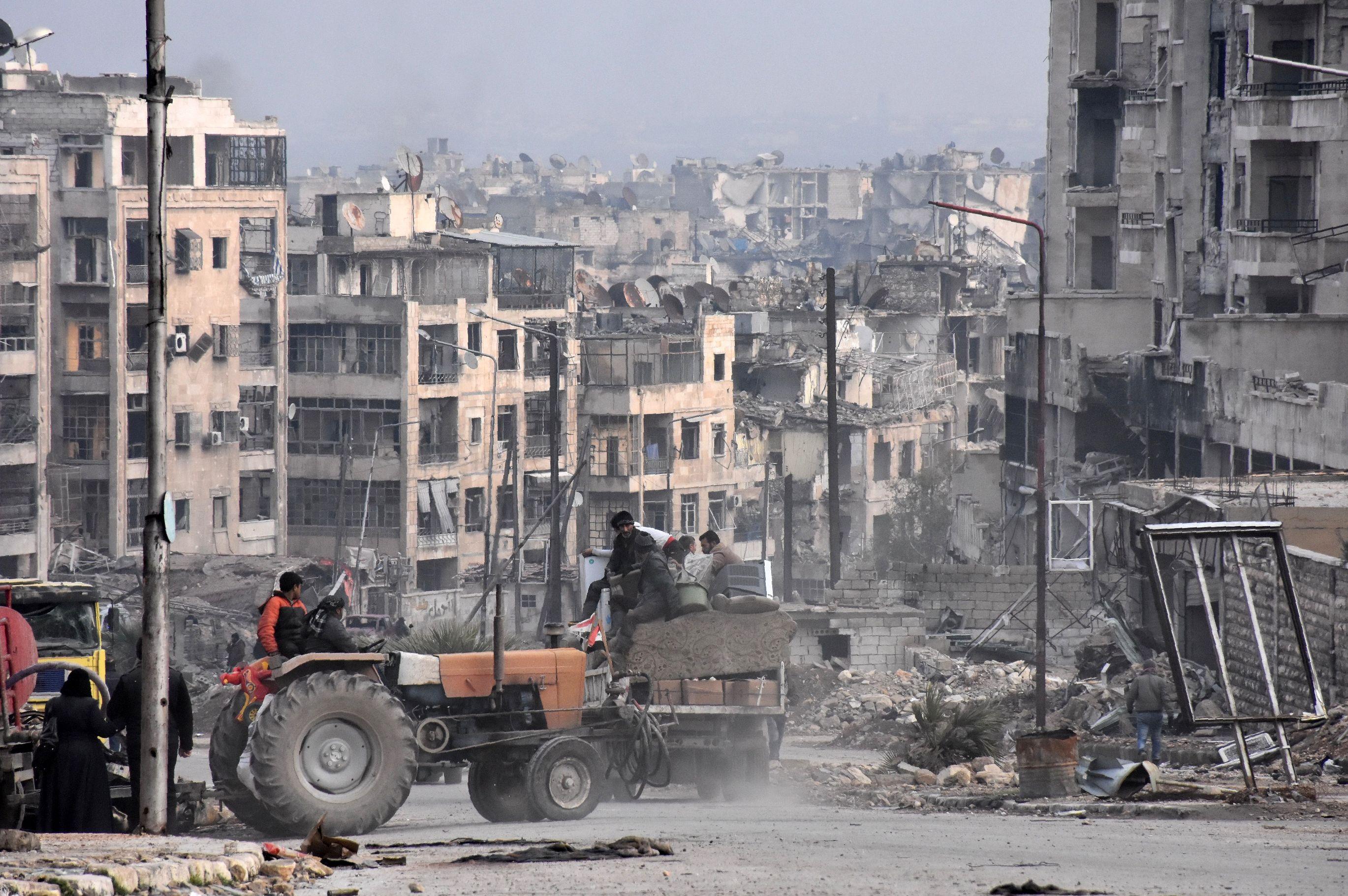 Aleppo's sobering lessons