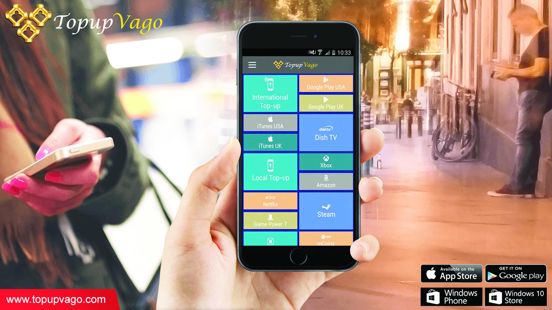 «Topup Vago» يمكِّن من تعبئة الهاتف النقال بكبسة زر