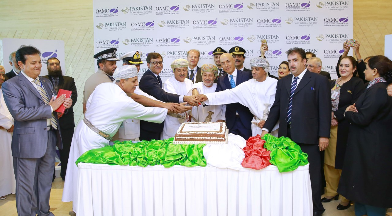 Pakistan Airlines flight connects Salalah with Lahore