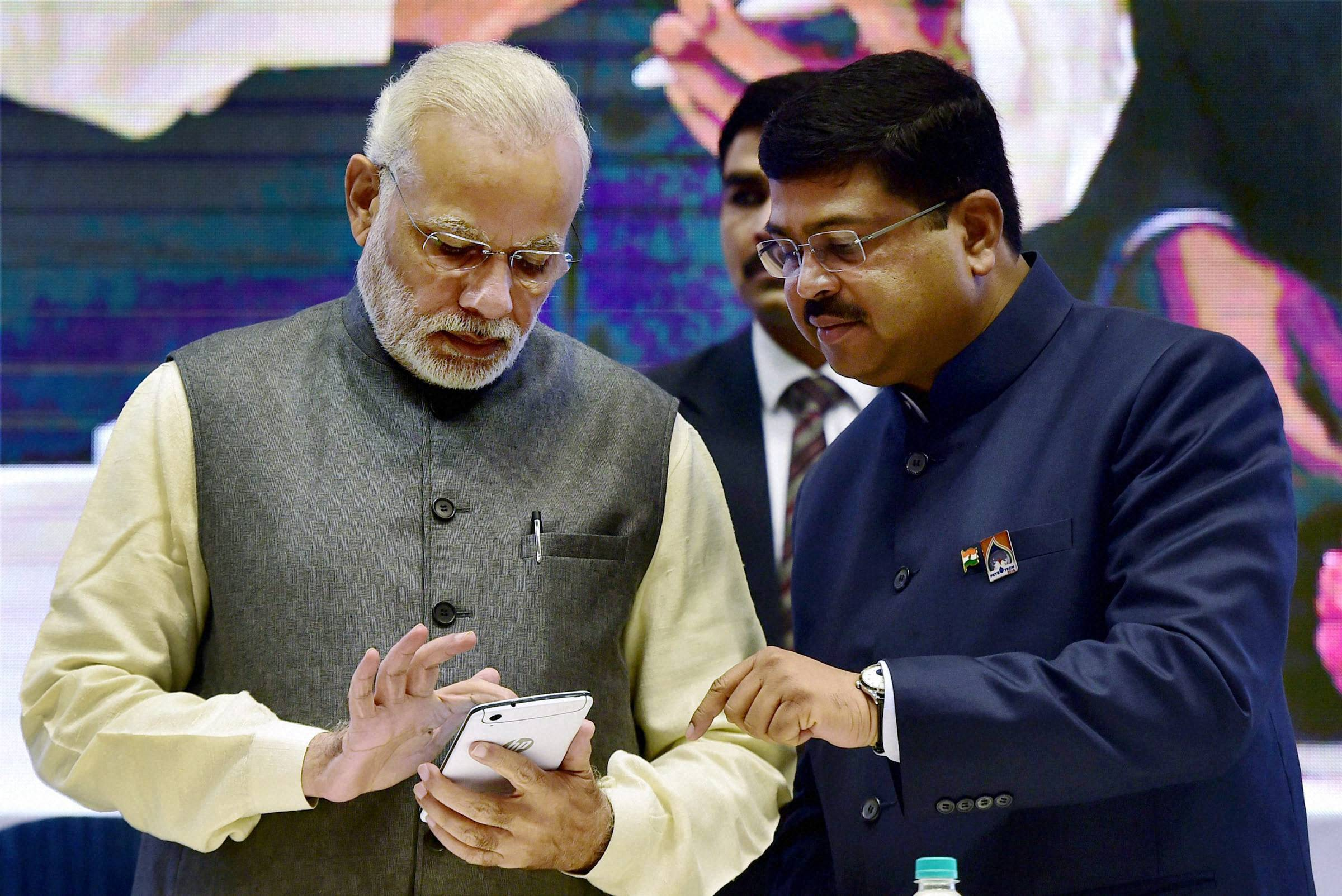 Prime Minister Narendra Modi asks Indian energy companies to become MNCs