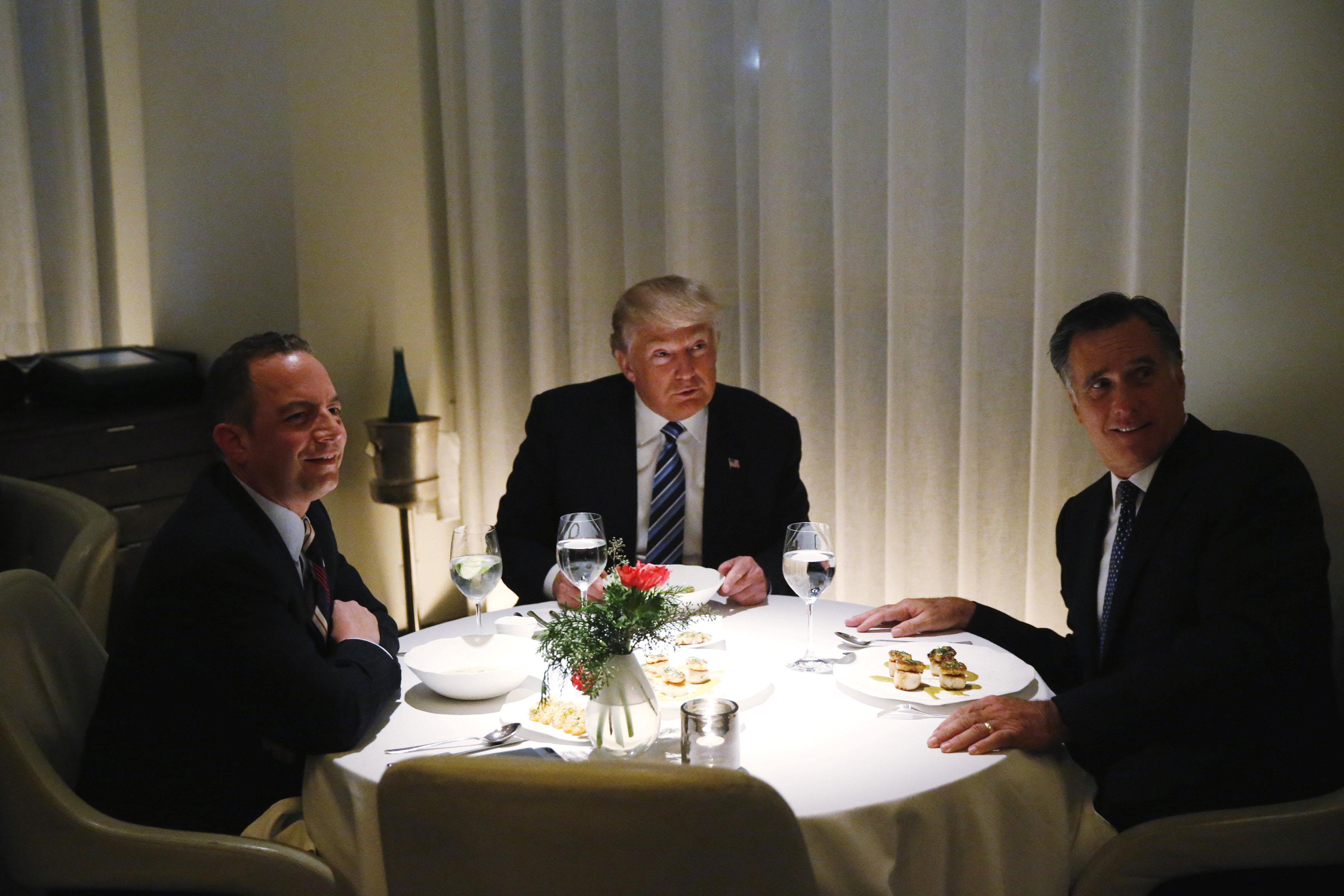 See Romney jump through Trump's hoops