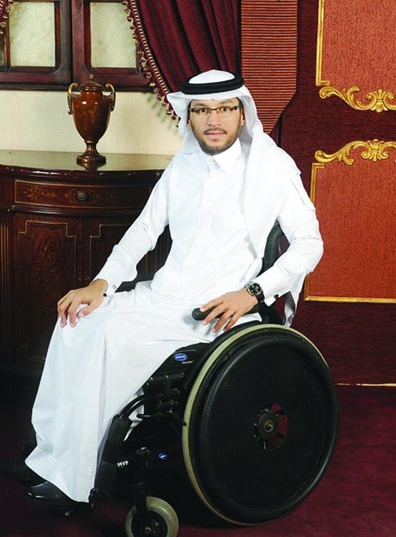 السعودية.. من هو عضو مجلس الشورى الذي دخله على كرسي متحرك؟