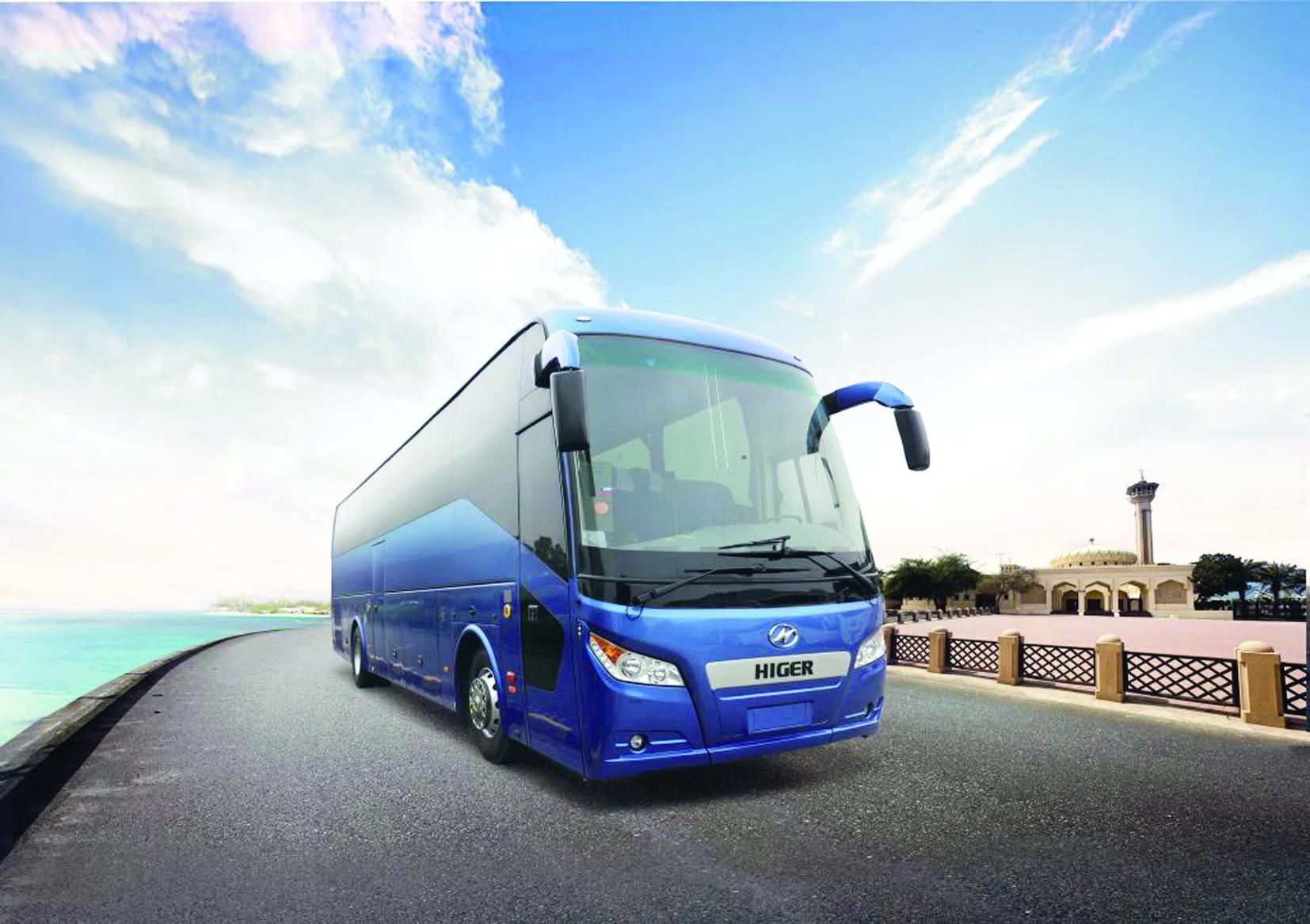 حافلات هايجر H92A تركز على السلامة وتقدم أفضل الخدمات