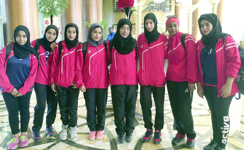 """بمشاركة 9 دول عربيةمنتخبات """"الصالات الجامعية للفتيات"""" تبدأ مشوارها في الدورة العربية"""